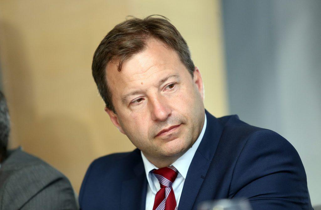 Osijek, 16.08.2016 - Bozo Petrov na konferenciji za medije predstavio izborni program MOST-a