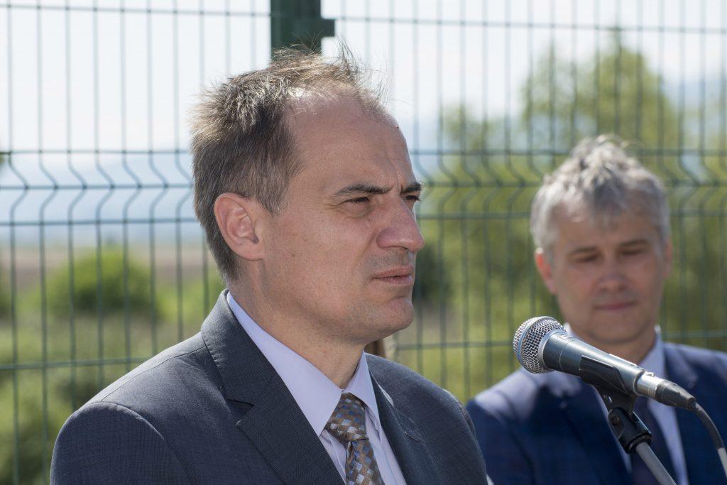 Metkovic, 19.07.2016 - Ministar Slaven Dobrovic otvorio biljni uredaj za prociscavanje otpadnih voda