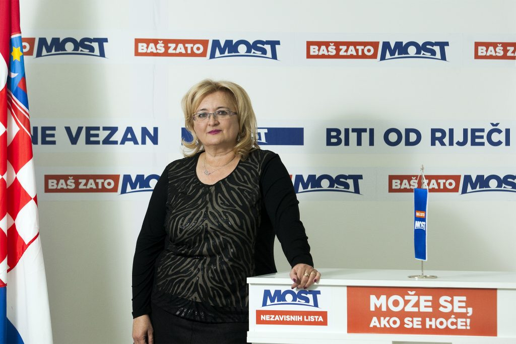 Zagreb, 111215. Sjediste MOSTa, Smiciklasova 19. Na fotografiji: Ines Strenja Linic. Foto: Tomislav Kristo / CROPIX